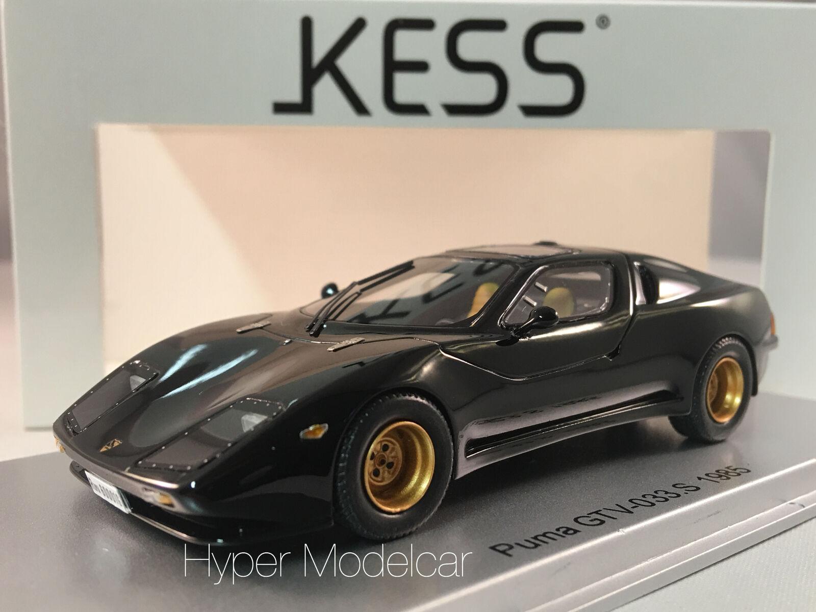 KESS MODEL 1 43 PUMA GTV 033 S ENGINE ALFA ROMEO 1985 nero ART. KE43016000