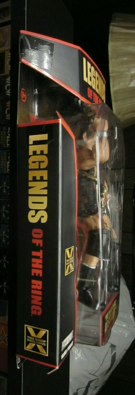 TNA IMPACT WRESTLING LEGENDS OF THE RING AJ STYLES STYLES STYLES AUTOGRAPH SIGNED cifra WWE e9c861