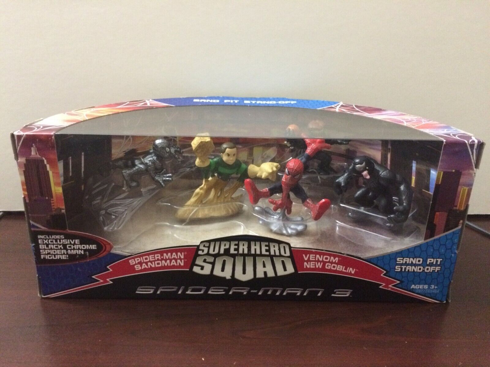 Marvel Spideruomo Super Hero Squad Se Pit Ste