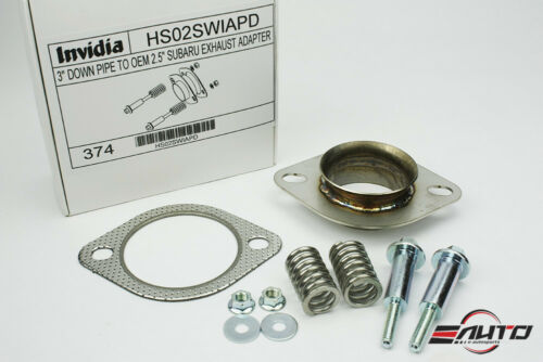 "INVIDIA 3/"" Down Pipe Downpipe to OEM Exhaust Adapter for WRX STi Legacy Forester"