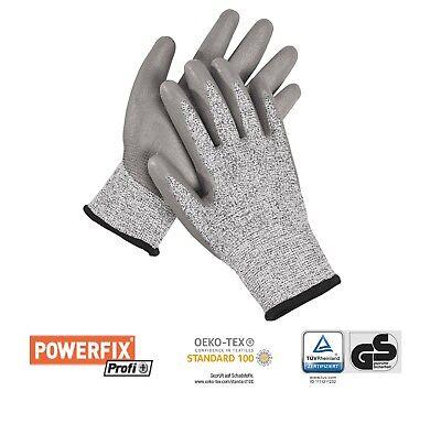 1 Paar Schnittschutz Handschuhe Arbeitshandschuhe Werkstatt, Haus Und Garten