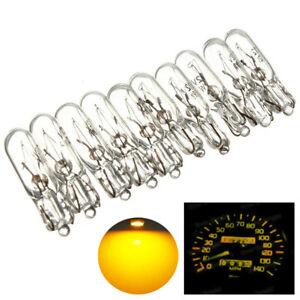 10-Ampoules-T5-2W2-12V-1-2W-pour-remplacement-ampoule-compteur-tableau-de-bord