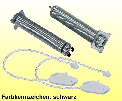 Türscharnier Feder Seilzug code schwarz Geschirrspüler Original Siemens 754869