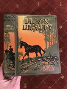1934-BLACK-BEAUTY-Anna-Sewell-ILLUSTRATED-EDITION-Rowland-Wheelwright