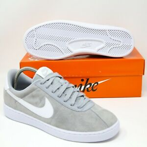 Nike-Bruin-Low-Suede-Skateboard-Basketball-Shoes-Wolf-Grey-White-845056-002-sb