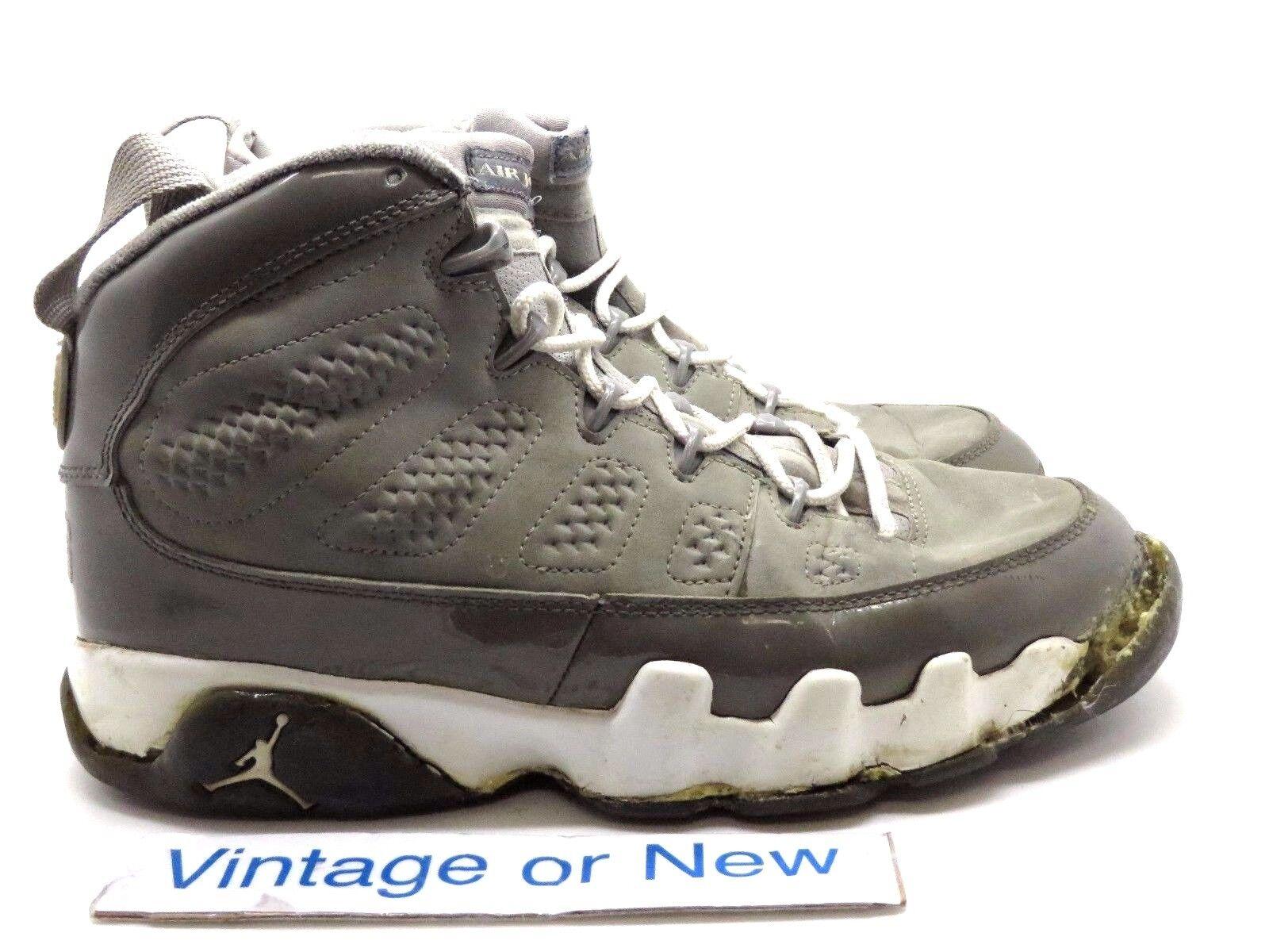 VTG Air Jordan IX 9 Cool Grey Retro 2002 Price reduction Cheap and beautiful fashion