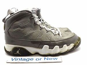 hot sale online 11d27 aa2aa Image is loading VTG-Air-Jordan-IX-9-Cool-Grey-Retro-