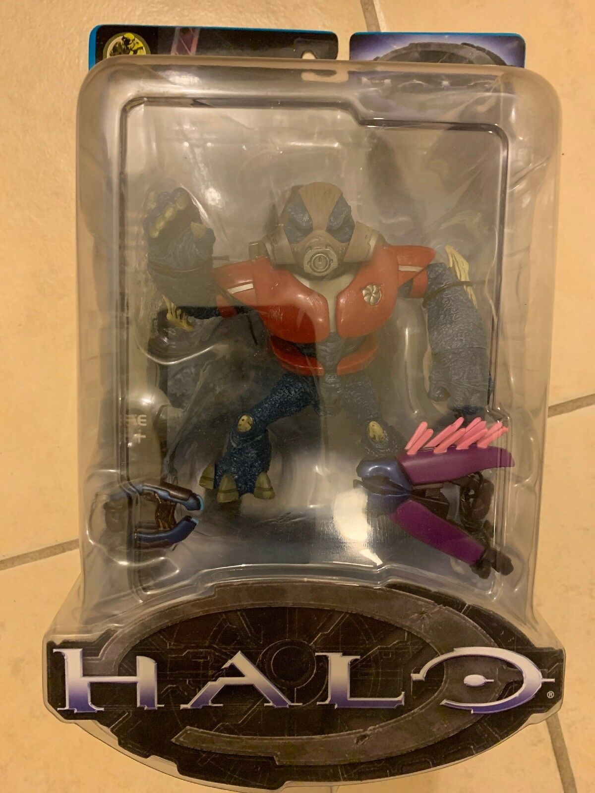 Halo Series 5 Red Covenant Grunt And Series 2 Covenant Ghost