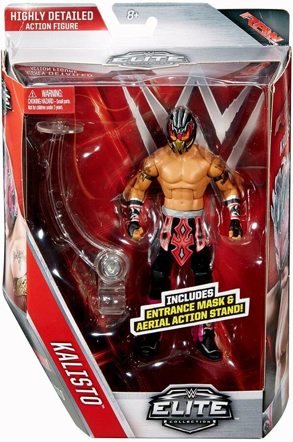 Elite Series 42 Kalisto Action Figure [Entrance Mask & Aerial Action Stand]