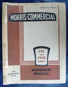 morris commercial fvs fvso 5 ton lorry workshop manual ebay rh ebay co uk Craftsman Garage Door Opener Manual Store Workshop Manual