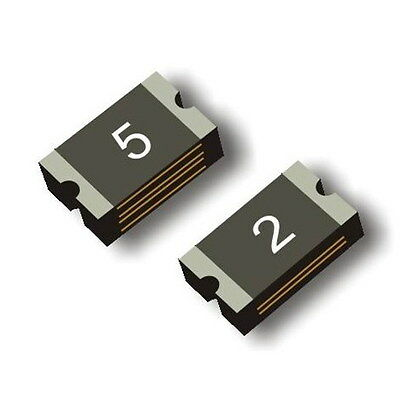 50PCS 0.5A 500MA SMD Resettable Fuse PPTC 1812 4.6mm×3.0mm NEW