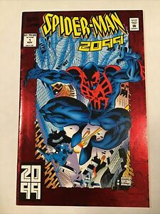 Spider-Man 2099 #1 Red Foil Cover Marvel Comics 1992 NM+ 9.6/9.8