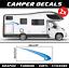 Camper Aufkleber sticker Wohnmobil 100cm Wohnwagen Motorhome Caravan VW decal