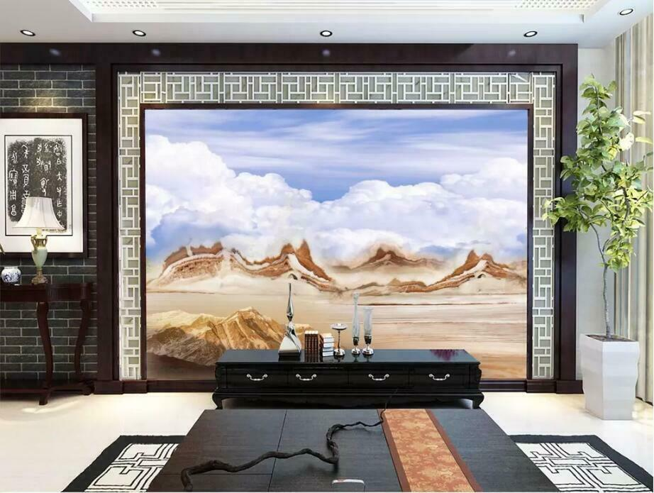 3D Kunst Marmor M2662 Tapete Wandbild Selbstklebend Abnehmbare Aufkleber Amy
