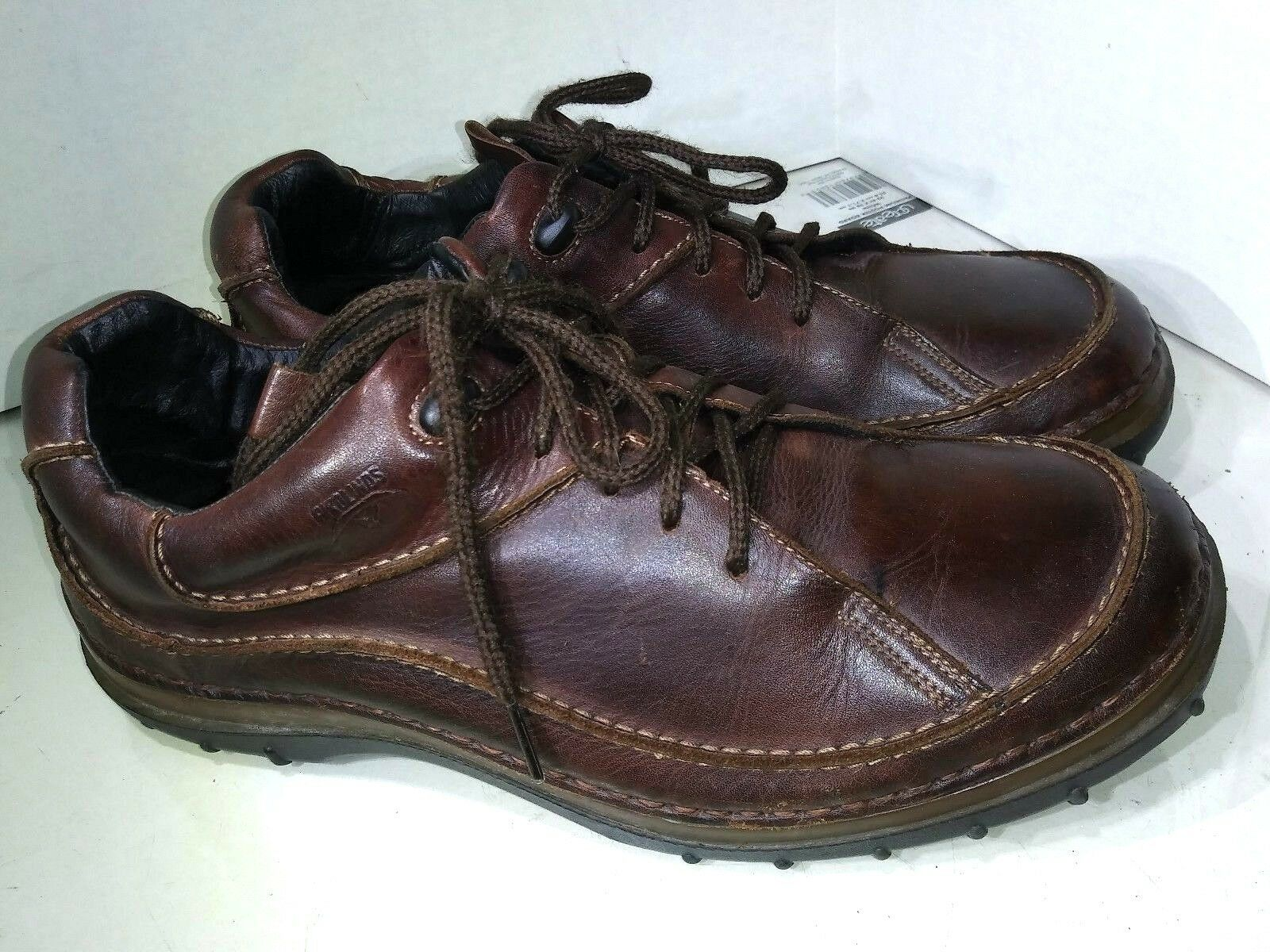 Pikolinos Brown Leather Sneakers Casual Oxfords Hiking shoes Mens sIze 44