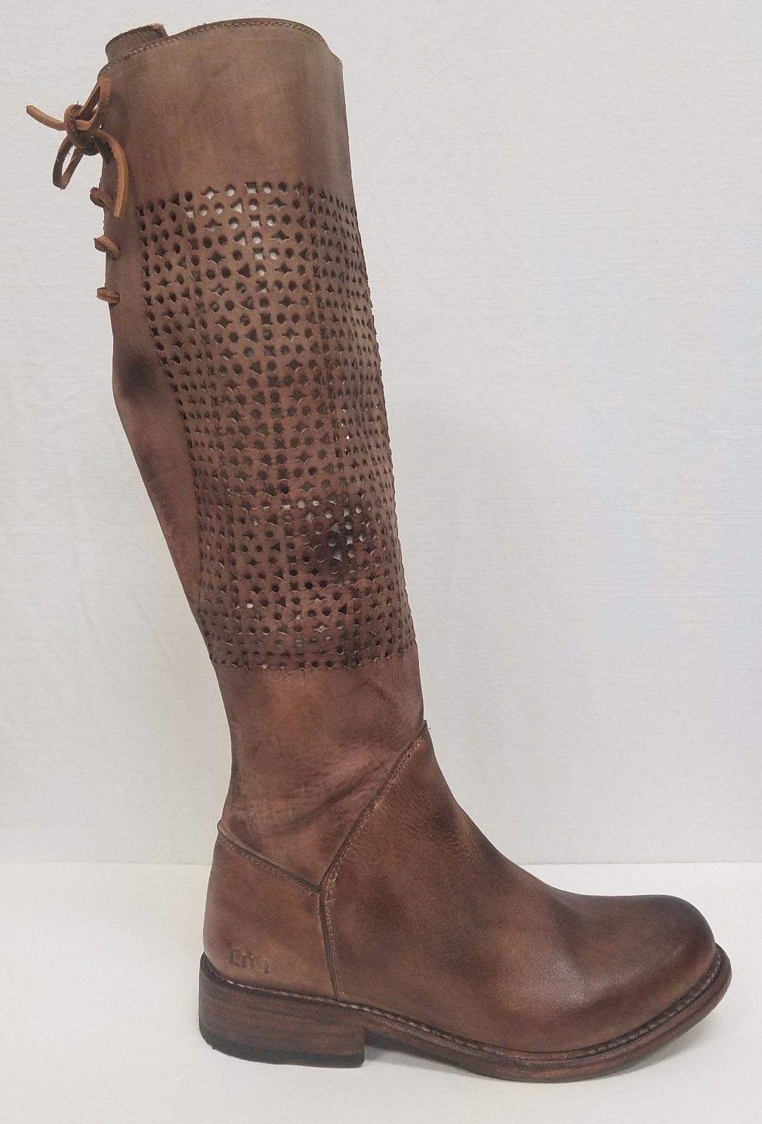 Bed Stu Cambridge tan trozos de de de madera Mujer Cuero botas hecha a mano muchos tamaños  mejor marca