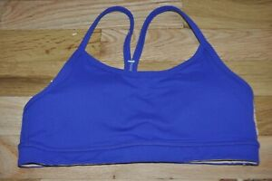 Excellent-LULULEMON-Purple-Wire-Free-Athletic-Sport-Bra-Size-2