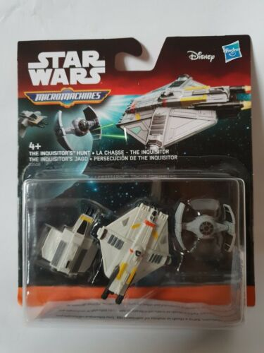 collectibles X Wing Millenium Falcon Tie Star Wars Micro Machines pack of 3