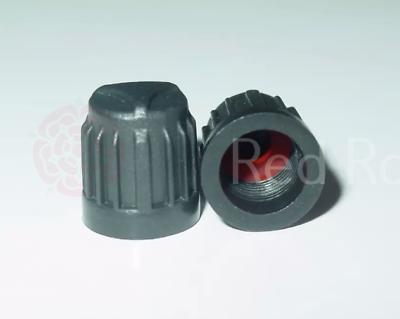 Neumático De Plástico Negro Juego De Tapas De La Válvula Tpms Sensor de presión segura Ford BMW