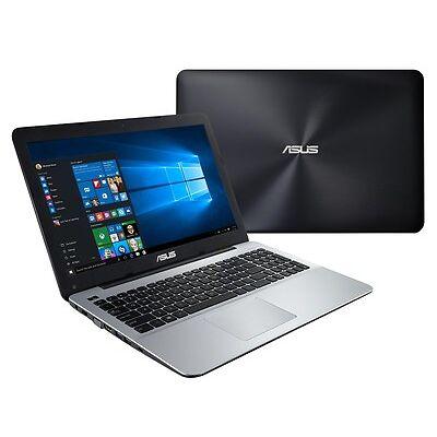 ASUS VivoBook F555UJ-XO044T 15.6 inch HD Notebook, Black/Silver