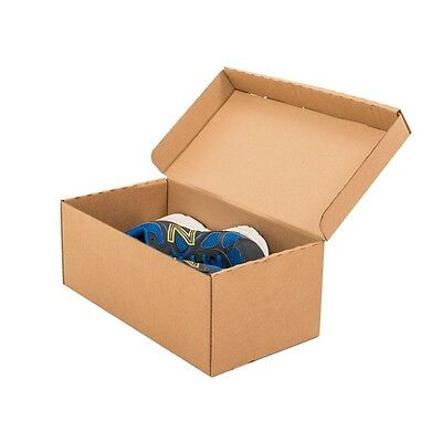 "Cardboard Shoe Boxes 13x7x5"" - 330x180x130mm - Various Quantities"