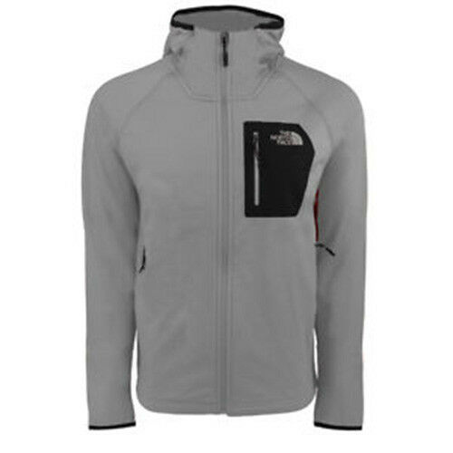 593fa569e2f5 The North Face Men s Borod Full Zip Hoodie Monument Grey 2xl for sale  online