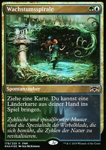 Wachstumsspirale-FOIL-Growth-Spiral-NM-FNM-Promo-GER-Magic-MTG