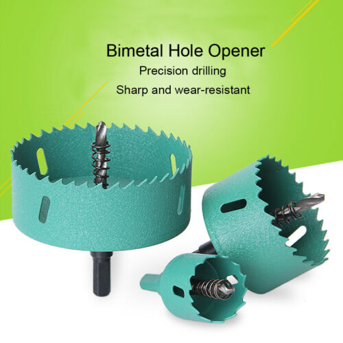 Details about  /16mm-200mm M42 HSS Hole Saw Cutter Drill Bit for Aluminum Iron Pipe Wood Drills