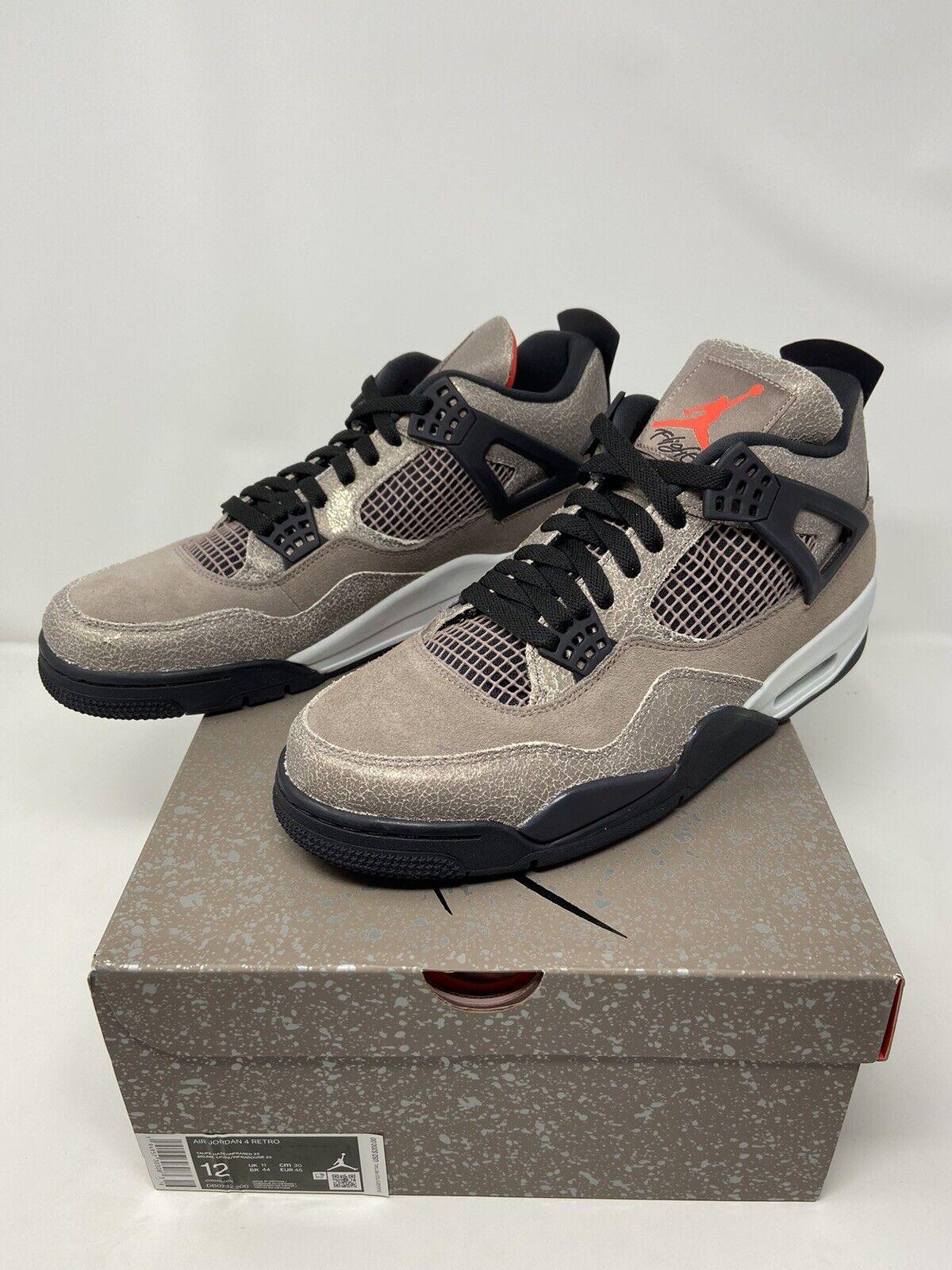 Nike Air Jordan 4 Taupe Haze DB0732-200 Size 12   FREE SHIPPING
