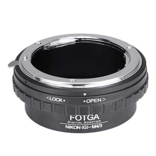 FOTGA Adapter For Nikon G AF-S Lens To Micro 4//3 M4//3 EPL5 EP5 GH1 GH3 GH4 GF5