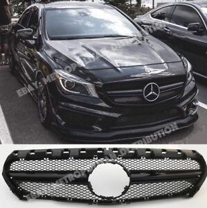 Mercedes-CLA-X117-C117-w117-AMG-CLA45-NIGHT-EDITION-sport-grille-gloss-black