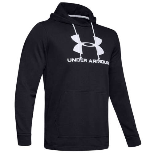 Under Armour Mens 2020 Sportstyle Terry Logo Moisture Wicking French Terry Hoody