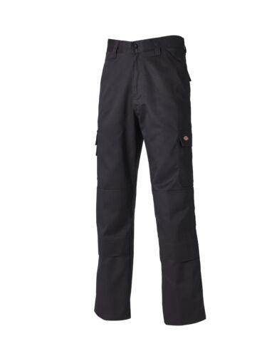 Dickies CVC Multiple Pocket Work Trousers Black Various Sizes Men/'s Trade
