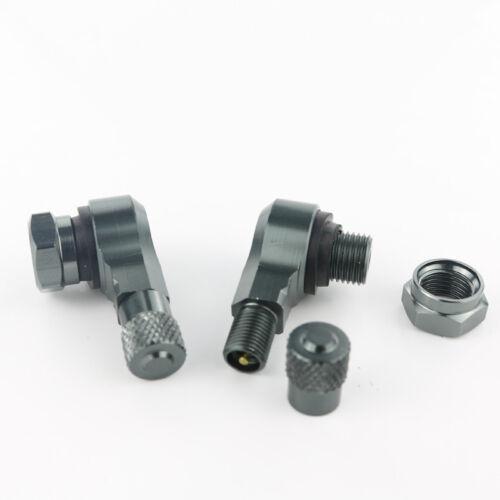 Tire Valve Stem Replacement For SUZUKI GSXR125 GSXR250 GSXR300 GSX-R600 GSX-R750