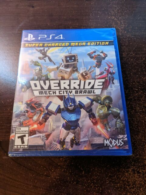 Override Mech City Brawl - PS4 (Sony PlayStation 4, 2018) NEW + Sealed