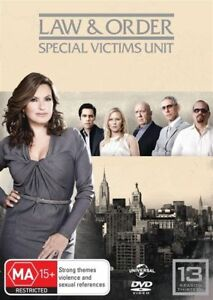 Law-And-Order-Special-Victims-Unit-Season-13-DVD-6-Disc-Set-NEW