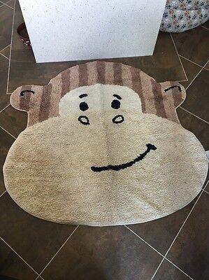 Cheeky Monkey Nursery Playroom Rug Mat