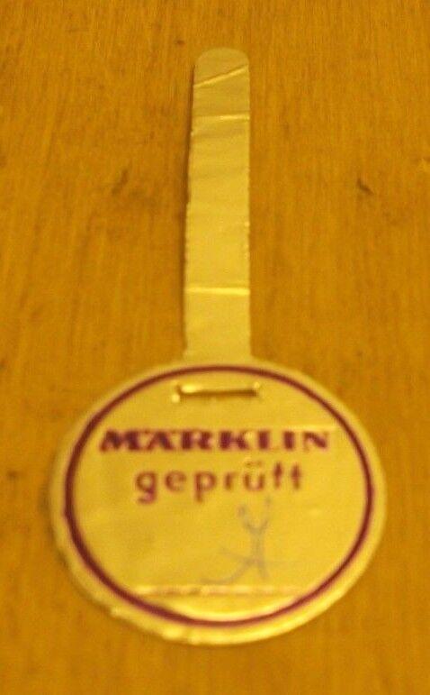 Märklin H0 Seal of Approval Purple Good