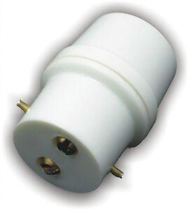 Details About B22 Bayonet Light Adaptor Plug Bc Bulb Holder Connector Lamp Socket Extension