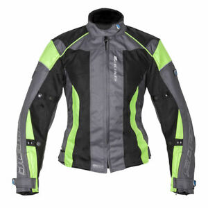 SPADA-AIR-PRO-2-LADIES-BLACK-SILVER-FLUO-VENTED-MOTORCYCLE-MOTORBIKE-JACKET