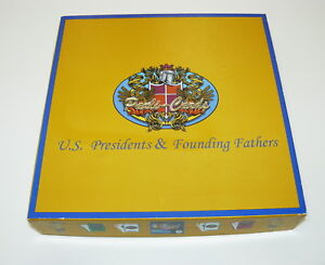 2011 U.S. Presidents & Founding Fathers Board Game – Never Played