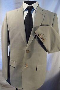 Magee-Inglaterra-Smart-elegante-Fawn-Neutral-Traje-Chaqueta-Blazer-Reino-Unido-38-039-s-EU-48-039-s