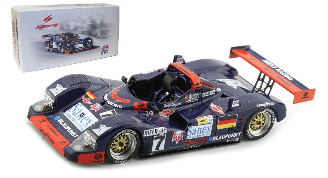 SPARK 18LM96 supplément WSC PORSCHE  Joest Racing'  7 Le Mans Winner 1996-échelle 1 18