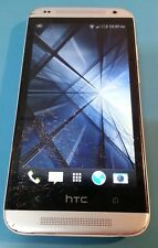 HTC Desire 601 White/Silver 8GB (Alltel) Cracked Glass
