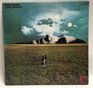 JOHN-LENNON-Mind-Games-SN-16068-LP-Record