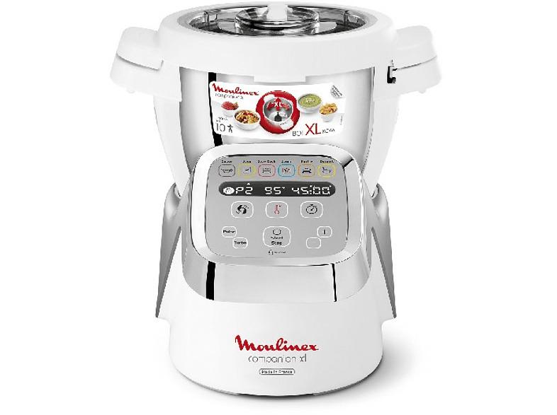 Robot de cocina - Moulinex COMPANION XL HF806, 3L, 12 programas, 1550W,