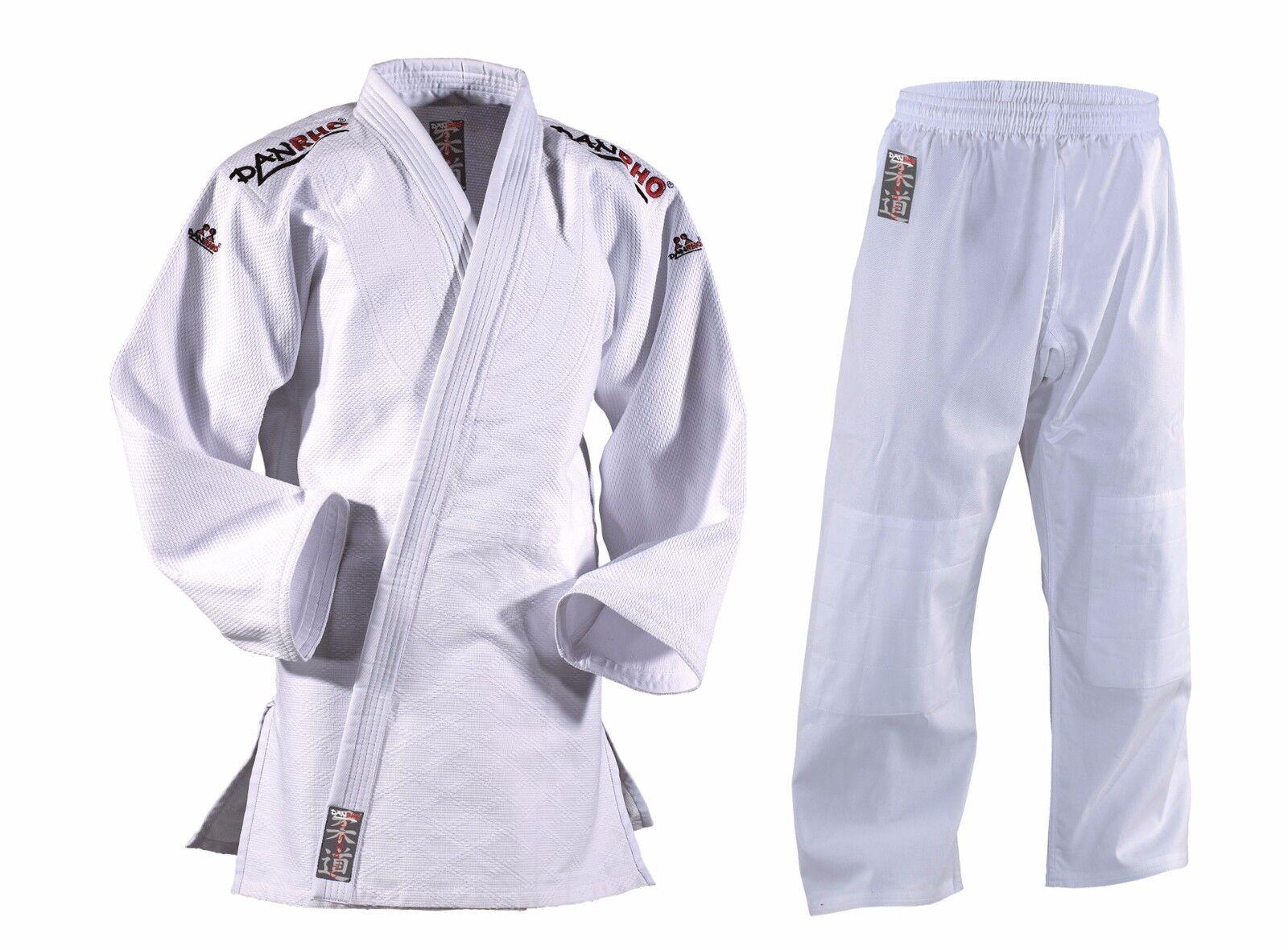 Judoanzug DanRho® Classic weiß 140-200, Ju Jutsu, Aikido, Aikido, Aikido, Karate, 550g m² Kwon® 61c832