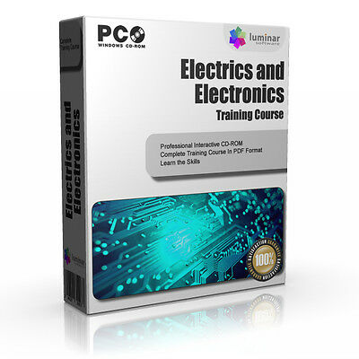 Electrics Electrical Kit Tools Electricians Guide Training Course PC CD