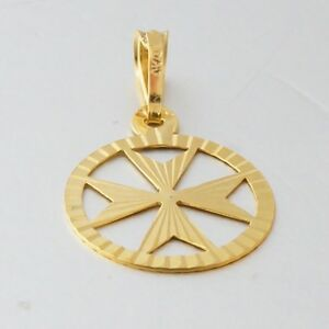 Amalfi malta maltese cross jewelry hallmarked 9ct gold pendant image is loading amalfi malta maltese cross jewelry hallmarked 9ct gold mozeypictures Choice Image
