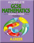 A Complete GCSE Mathematics: General Course by Alex Greer (Paperback, 1989)